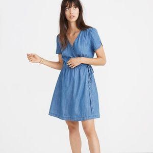 Madewell Denim Wrap Dress NWOT